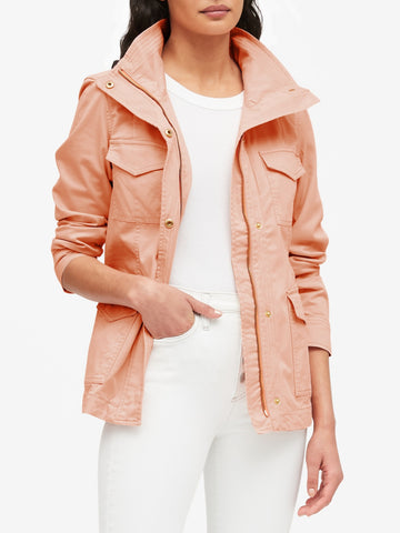 Classic Utility Jacket in Peachy Keen