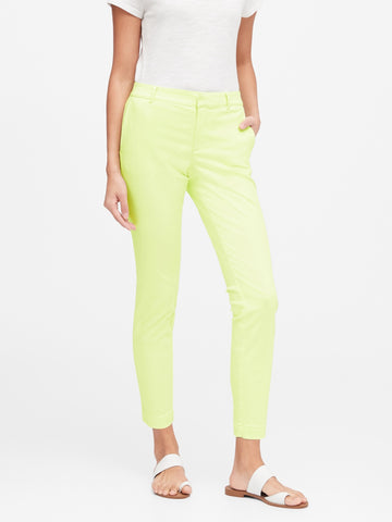 Sloan Skinny-Fit Chino in Neon Lime Sorbet