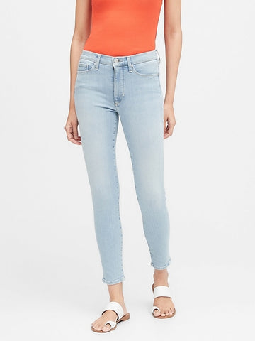 Petite High-Rise Skinny Jean in Light Wash