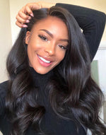 DAISY - 180% DENSITY WAVY HAIR LACE FRONT WIGS - LFH002