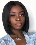ARIES WIG - MALAYSIAN HAIR BLUNT BOB LACE WIG - ARIES003
