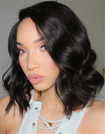 RAVEN - MALAYSIAN HAIR BOB LACE FRONT WIG - LFW004