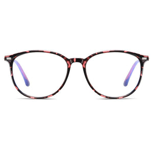 pink floral frames in round square shapes