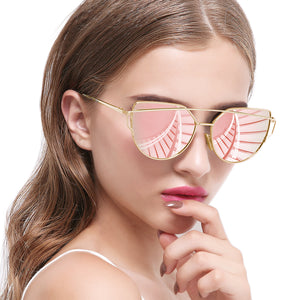 Joopin_Cateye_Sunglasses_for_Women_Metal_Frame_Flat_Lens_Womens_Sunglasses_Polarized_pink