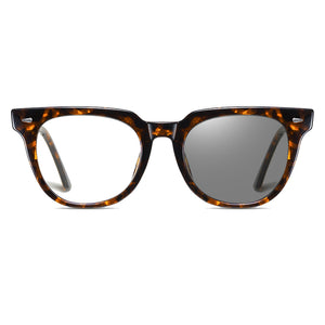 transition eyeglasses darken or lighten according to surrounding light level, frame color tortoise