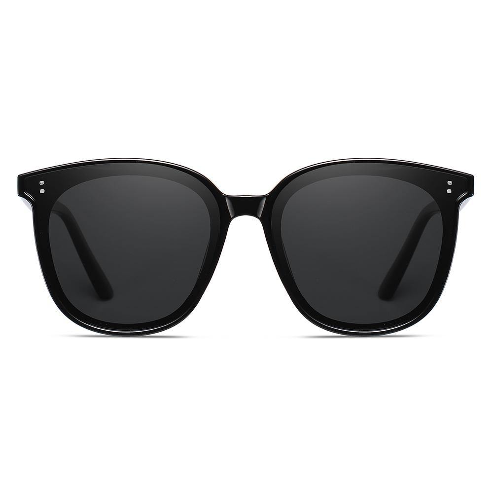Black square shades with thick frames