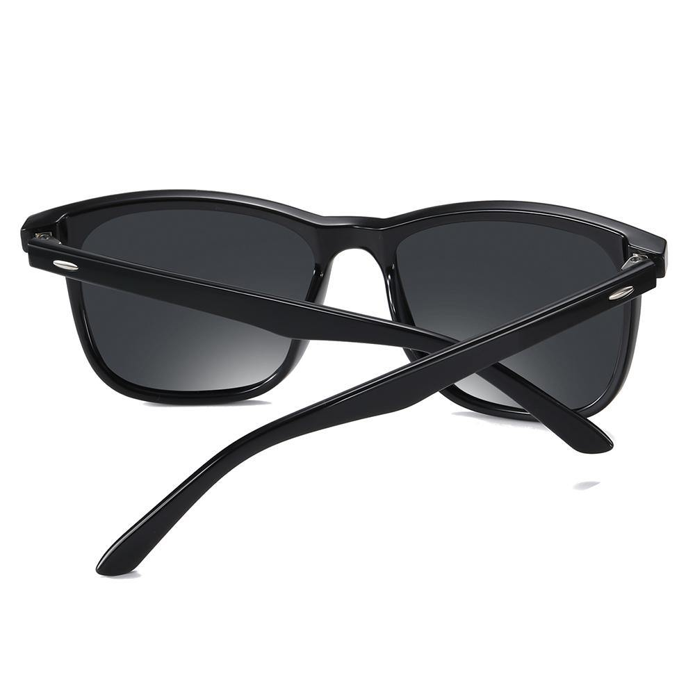 black temple arms and sunglasses frames