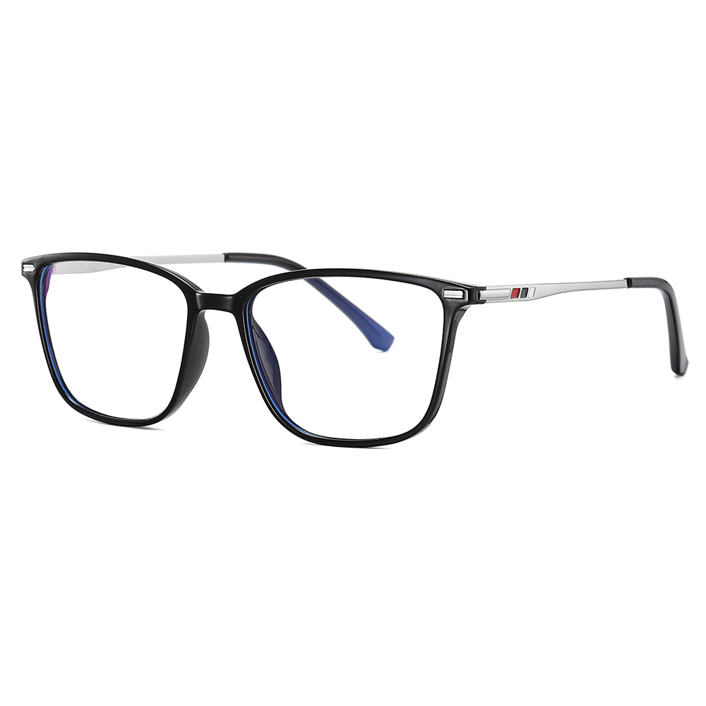 Square rectangle frames shape in tortoiseshell color