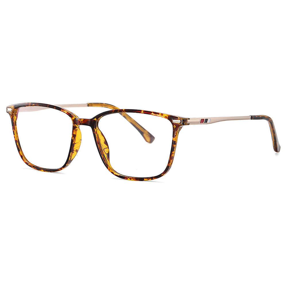 Tortoise shell frames with gold temple arms