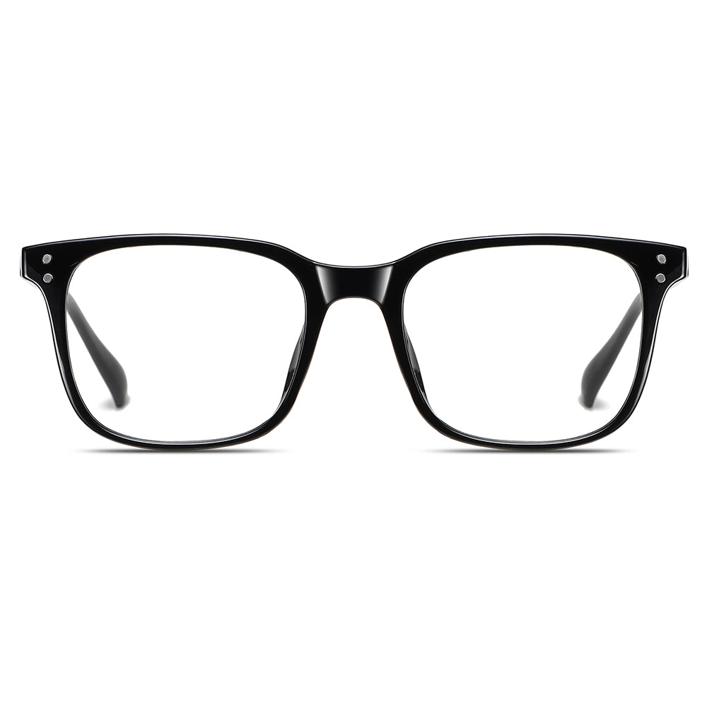 rectangle eyeglasses in black fpr sale