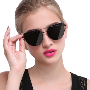 Joopin_Cateye_Sunglasses_for_Women_Metal_Frame_Flat_Lens_Womens_Sunglasses_Polarized_Black