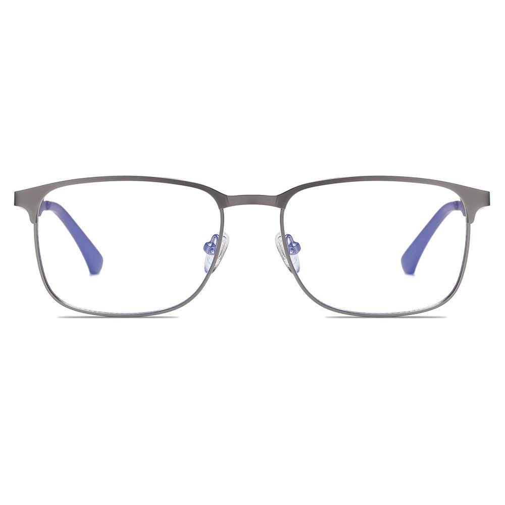 rectangle eyeglases in black frames color for men