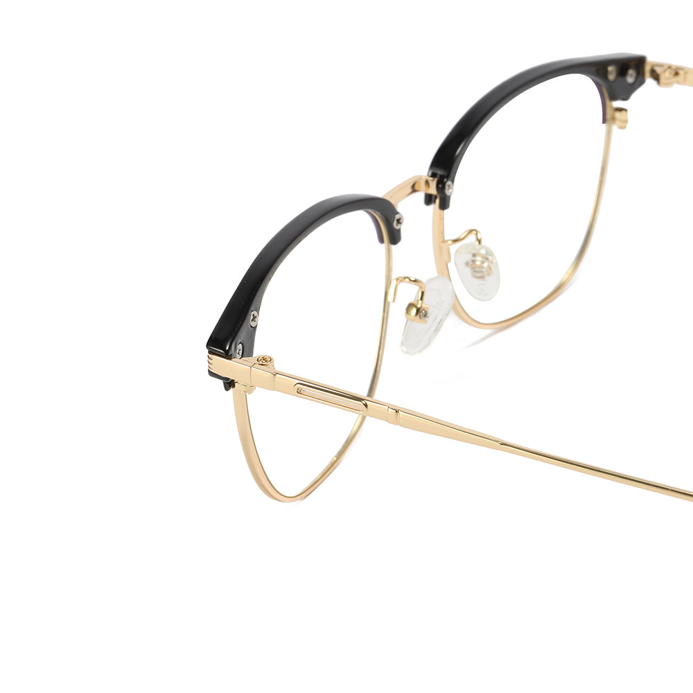 gold temples of mens clubmaster glasses