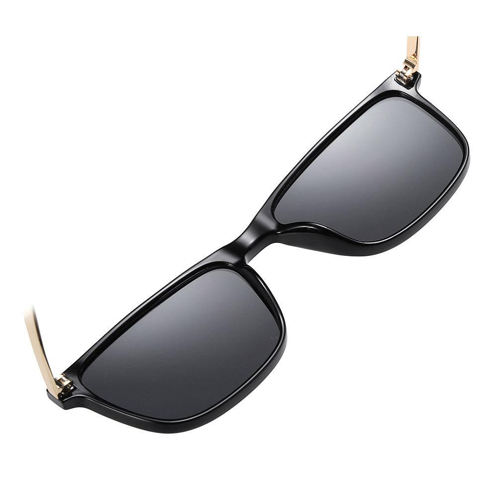 Bright black frames with One piece nose pads