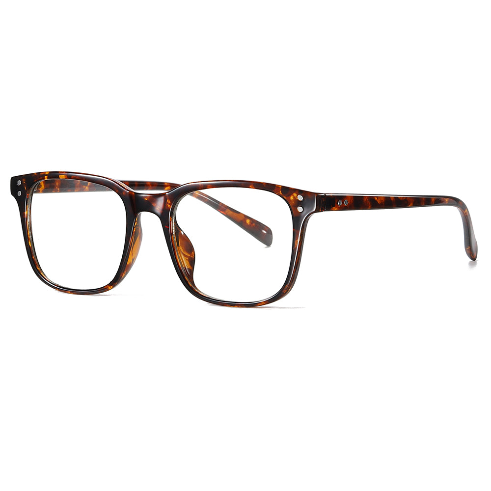 tortoise frame in rectangle shape, photochromic eyeglasses for men
