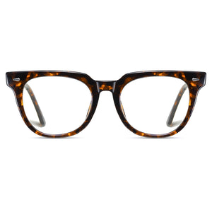 tortoise eyeglasses frames in round shape, photochromic lenses