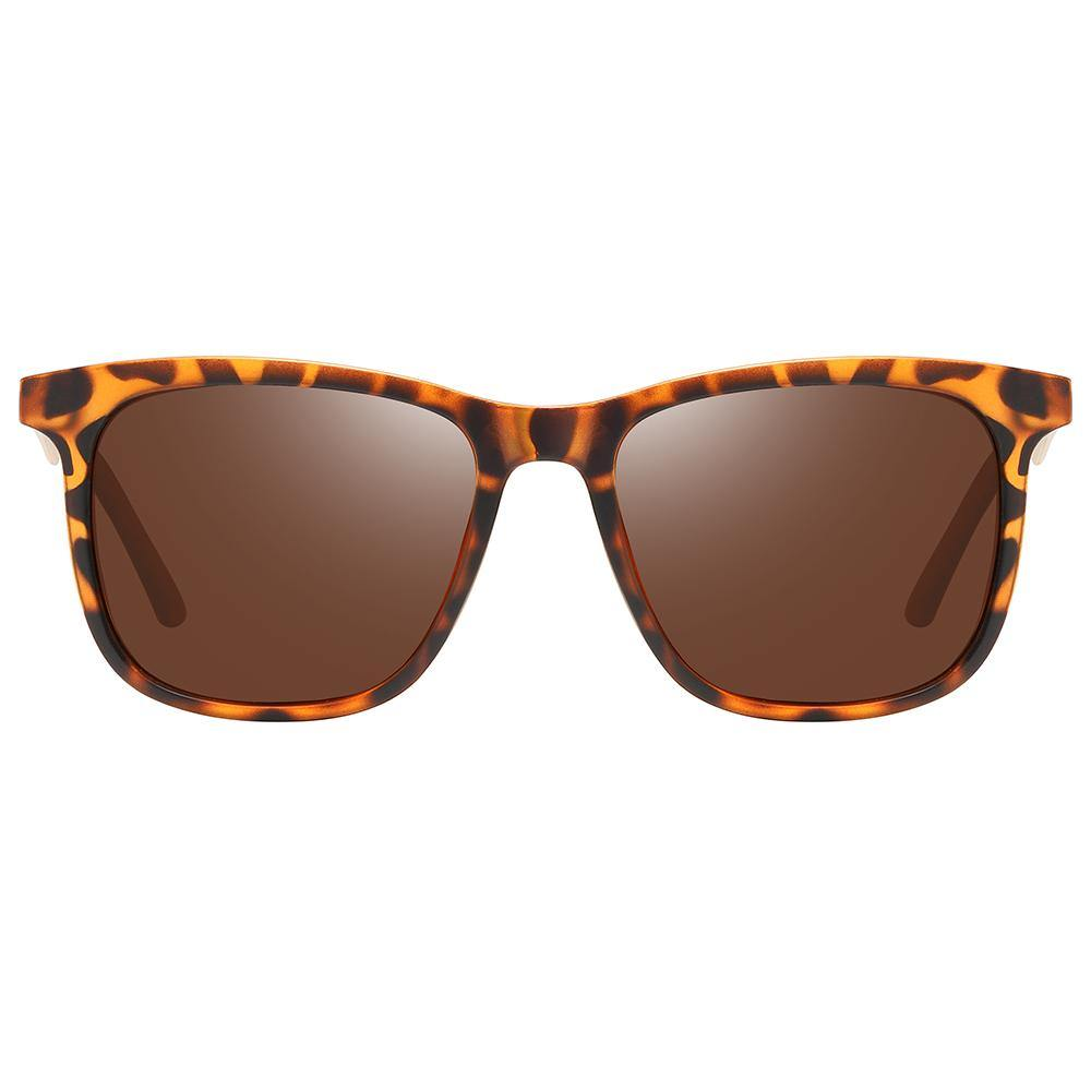 square rectangular shape with tortoise frames prescription sunglasses