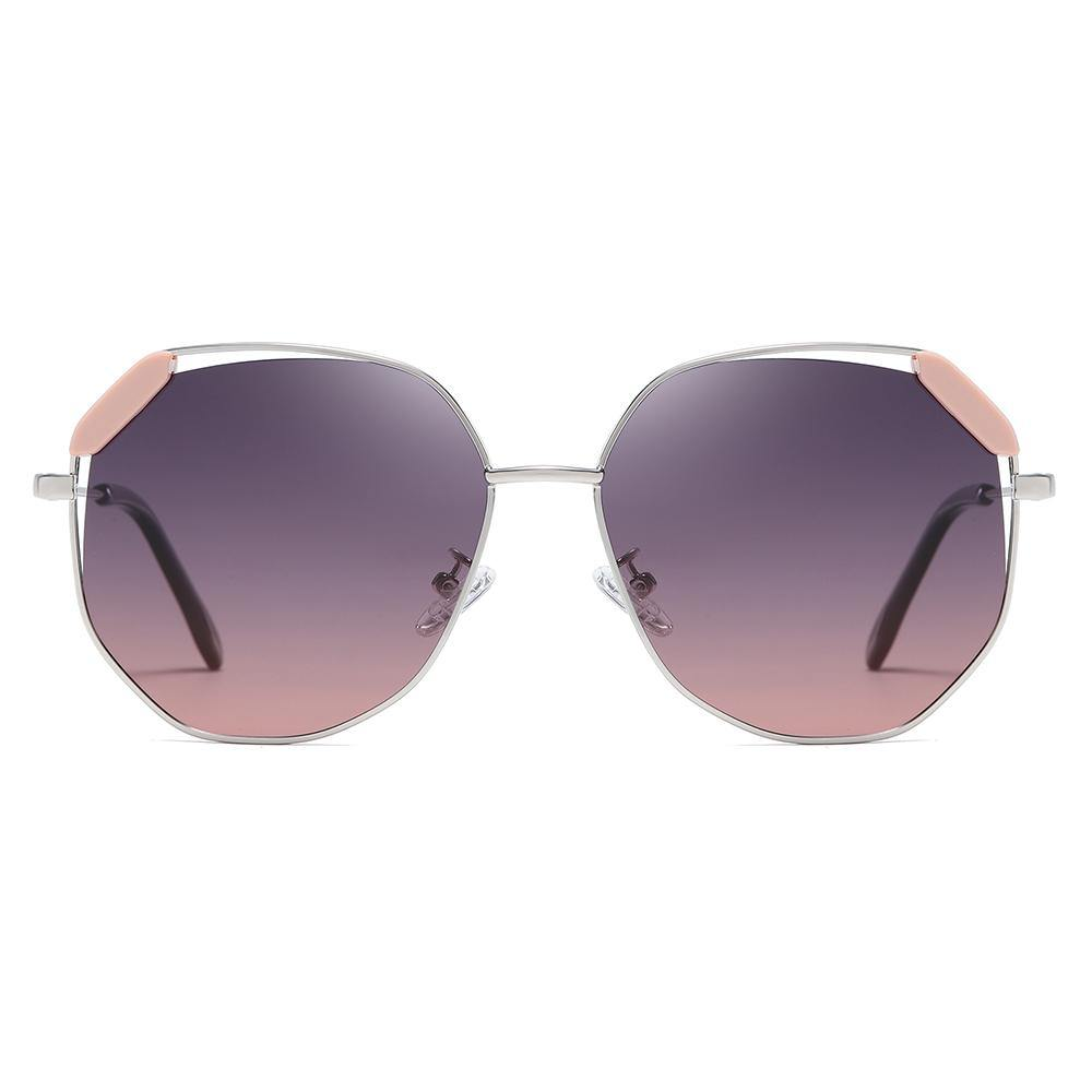 purple gradient lenses pink detail finishing