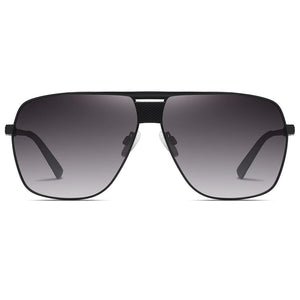square shaped sunglasses with black gradient tinted lens