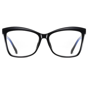 black square eyeglasses