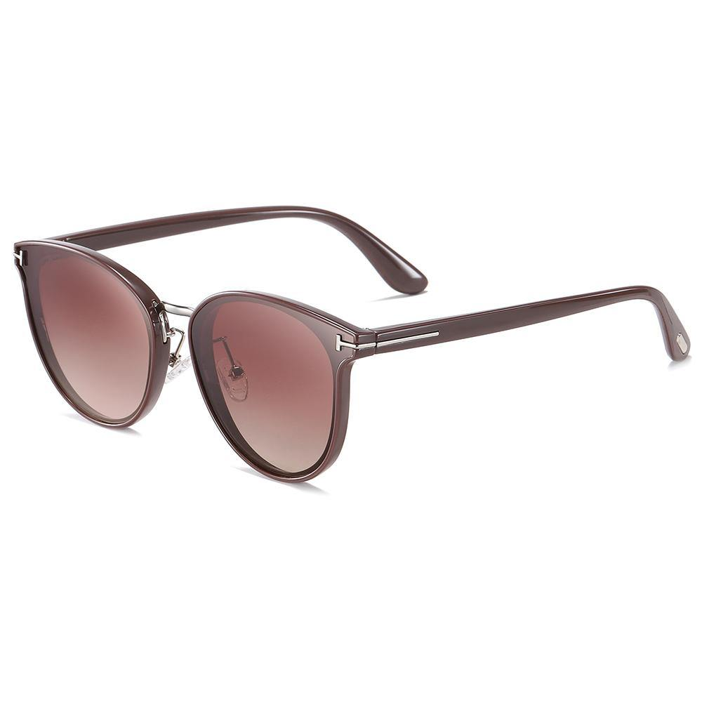 wine red sunglasses for fishing, with dark red temple arms
