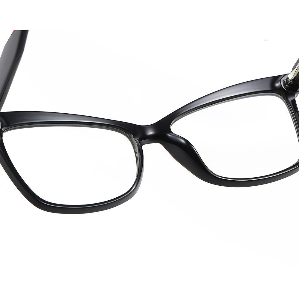 one piece nose pad for trendy square eyeglasses