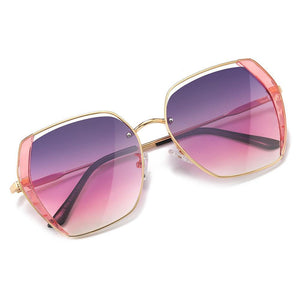 lens color in violet pink gradient and gold trim