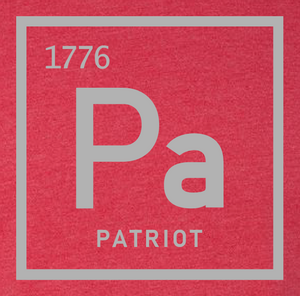 Periodic Table Patriot Red