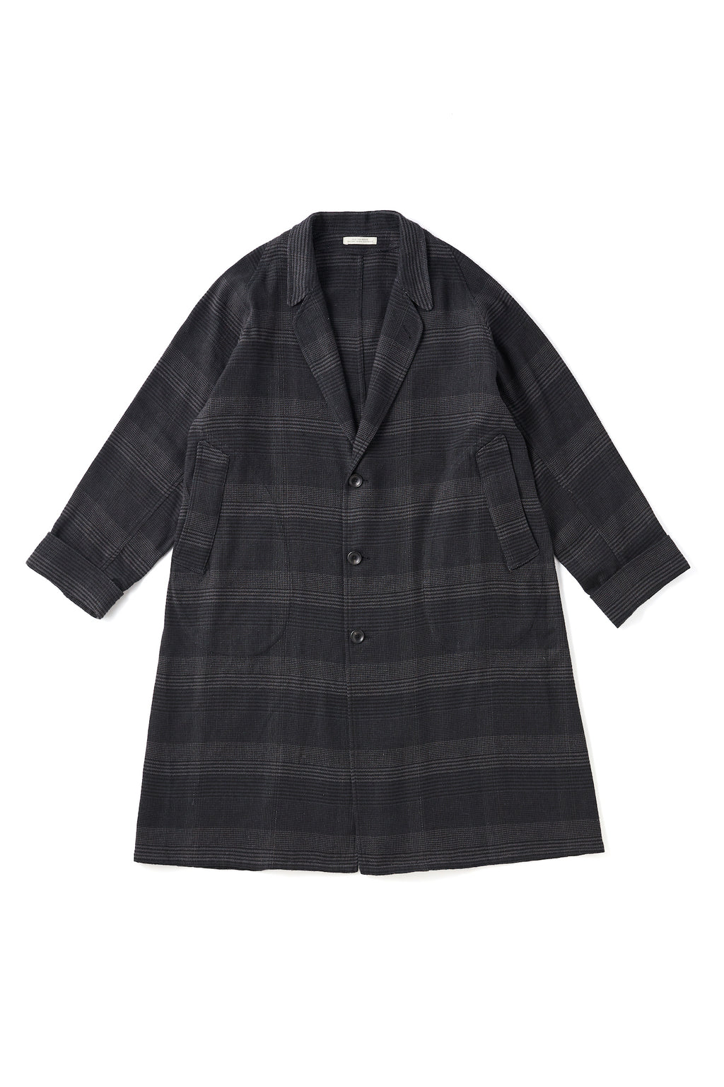 NARROW RAPEL DUSTER COAT - 201OJ-JK06