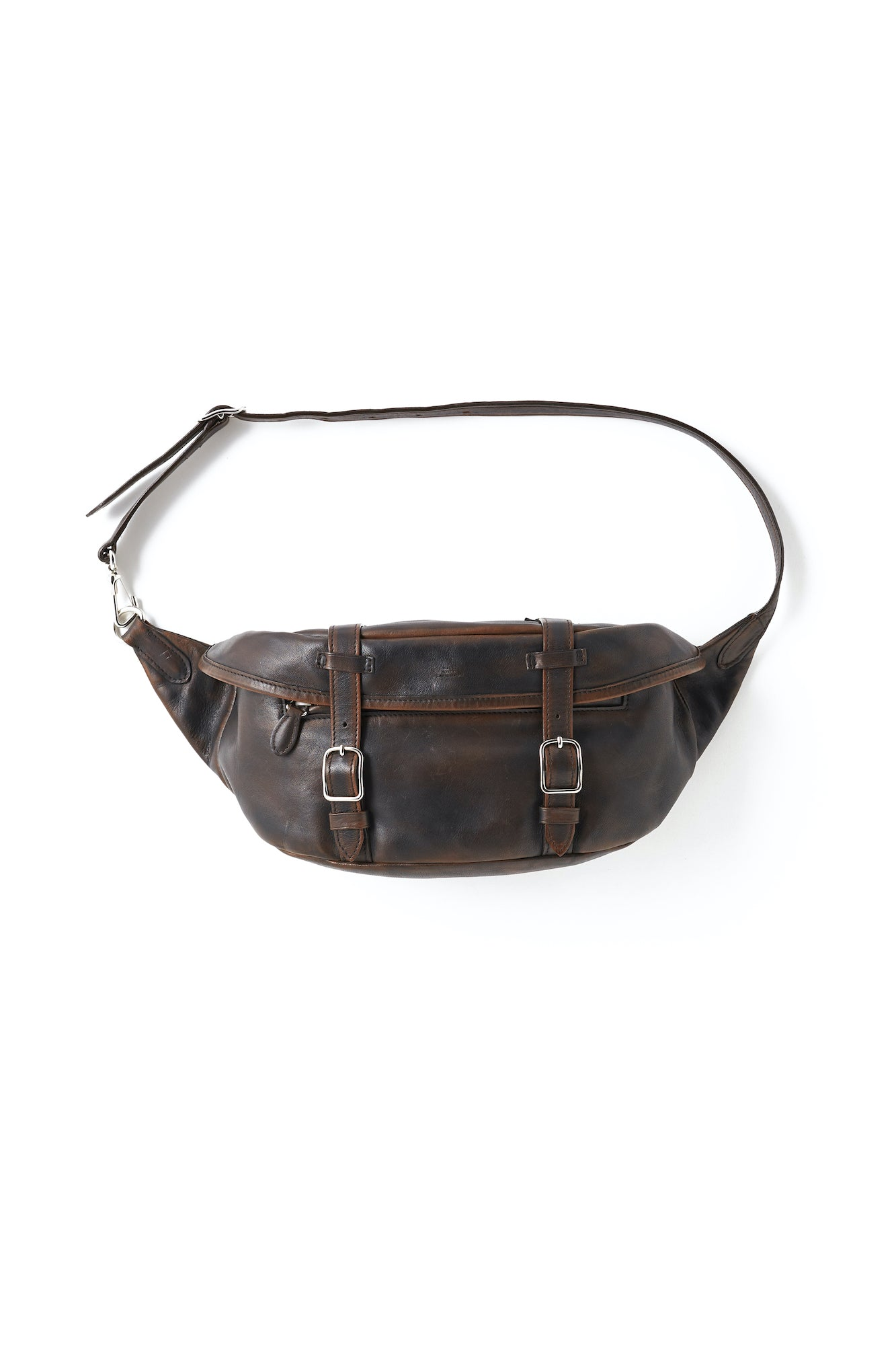 PATINA HORSE HIDE BELT BAG - 201OJ-AC09