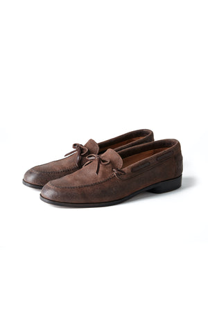 """The Boater"" VACHTTA LEATHER MOCCASIN SHOES - 201OJ-FW03"