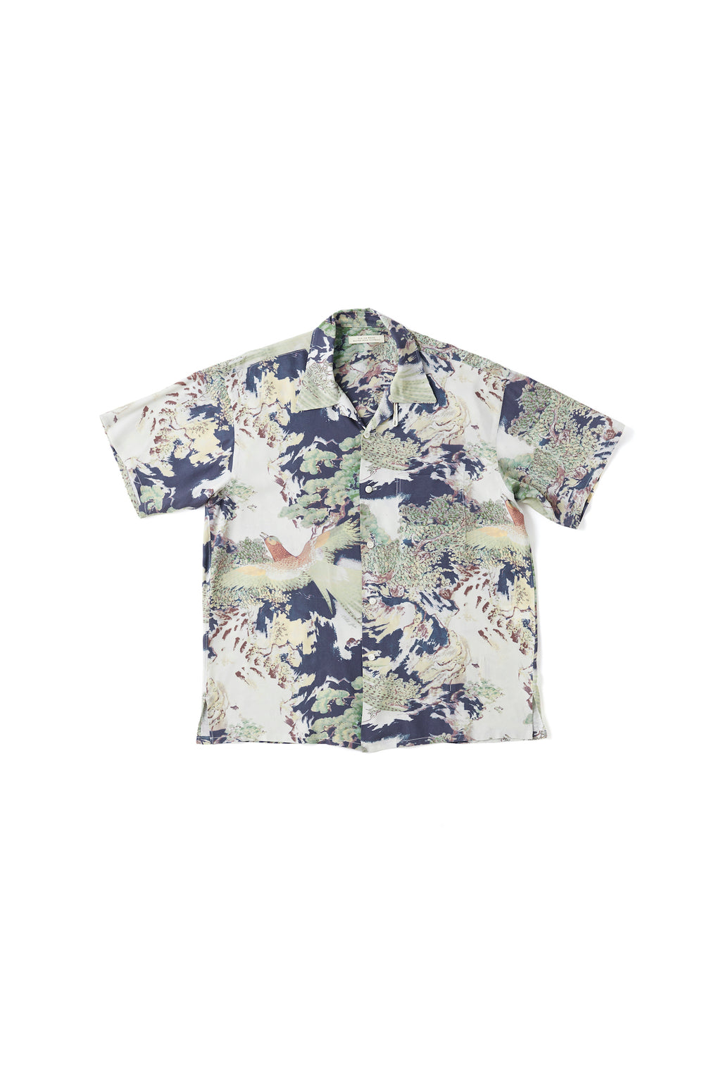 ORIGINAL PRINTED OPEN COLLAR SHIRTS (-ORIENTAL- short sleeve) - 201OJ-SH09