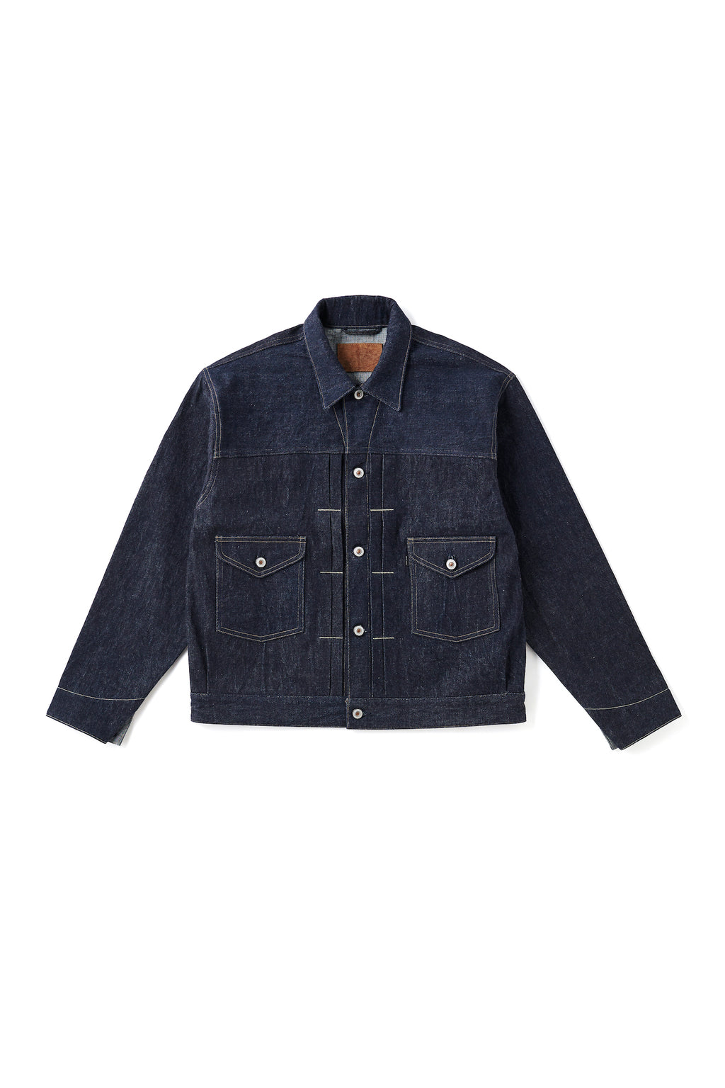 OPEN COLLAR RANCH JACKET - 201OJ-JK03