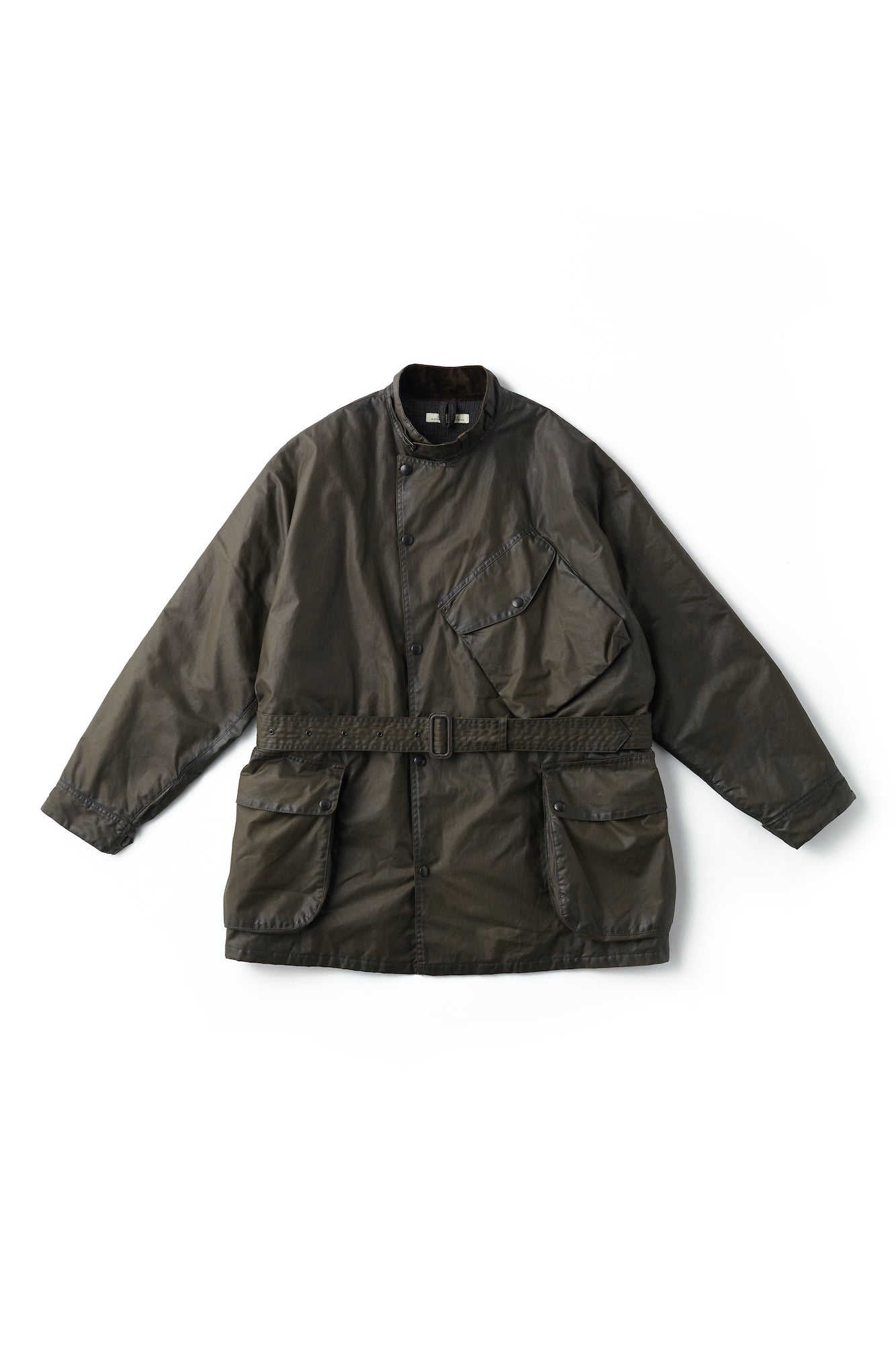 WAXED BLACK PANTHER JACKET - 192OJ-JK06