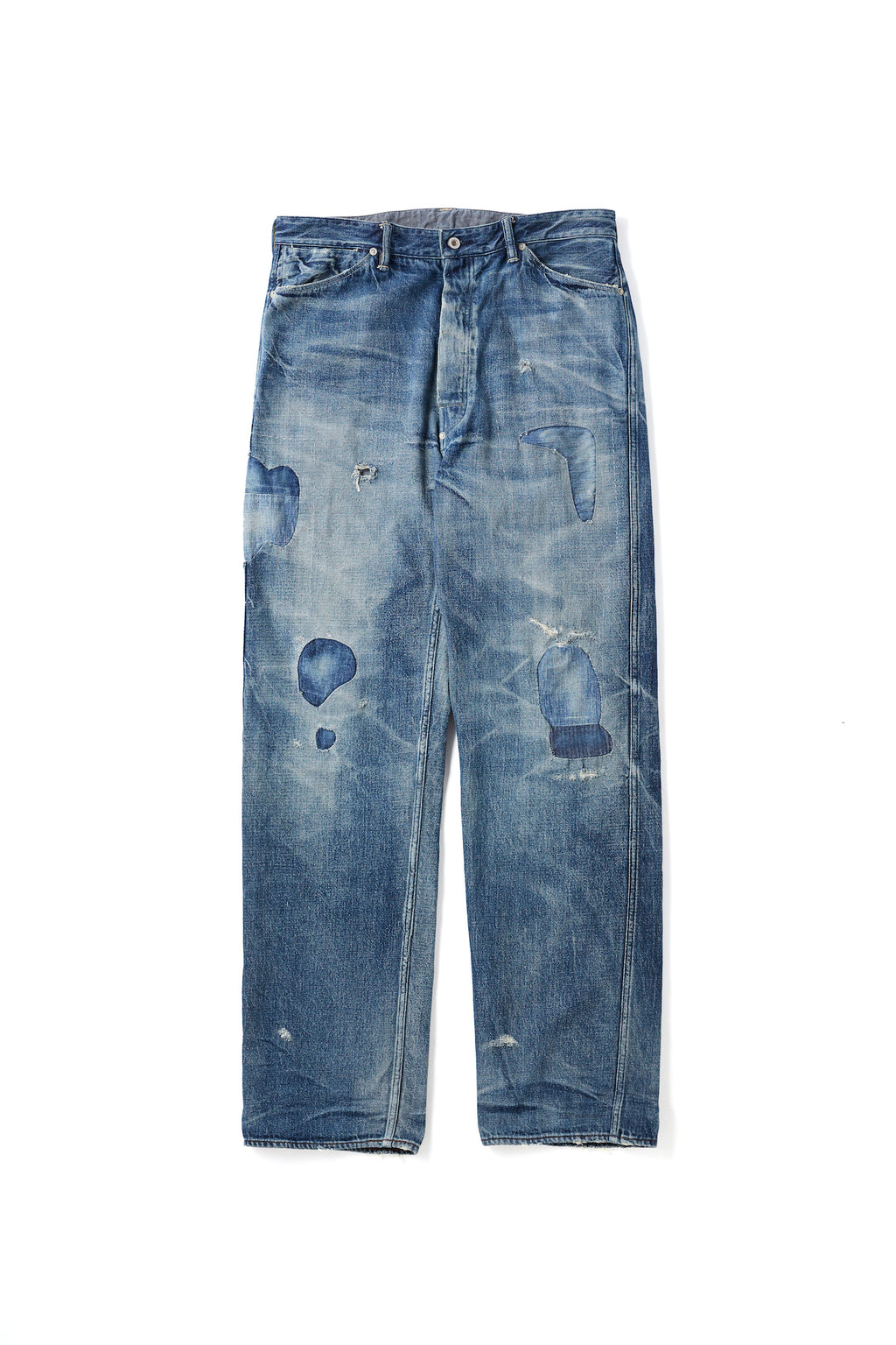 "PLEATED JEAN TROUSER ""946""(SCAR FACE) - 201OJ-PT05"
