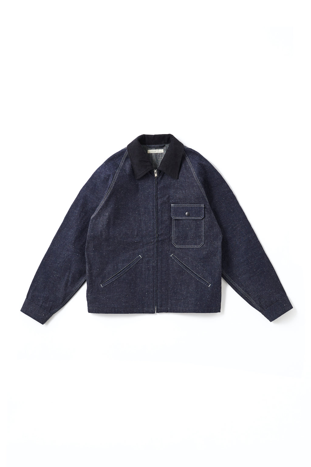 ROLL COLLAR ZIP JACKET - 201OJ-JK04