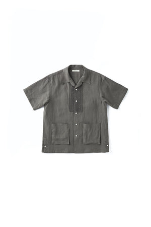 EMBROIDERED HAVANA SHIRTS - 211OJ-SH05