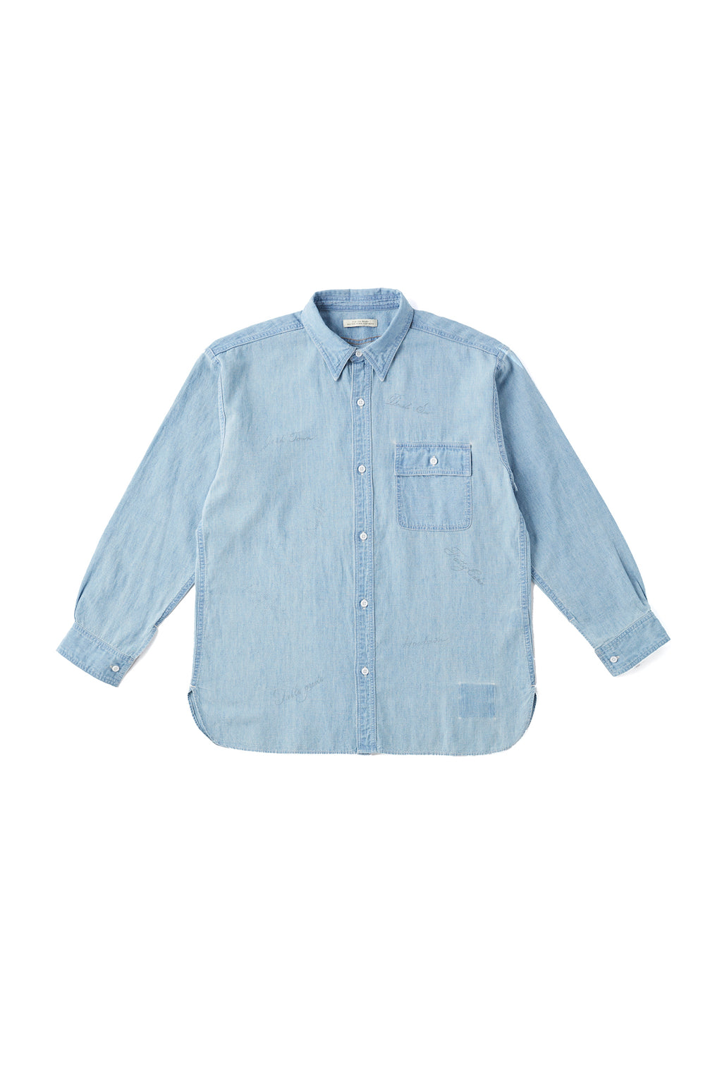 ONE POCKET MARINE SHIRTS - 201OJ-SH03