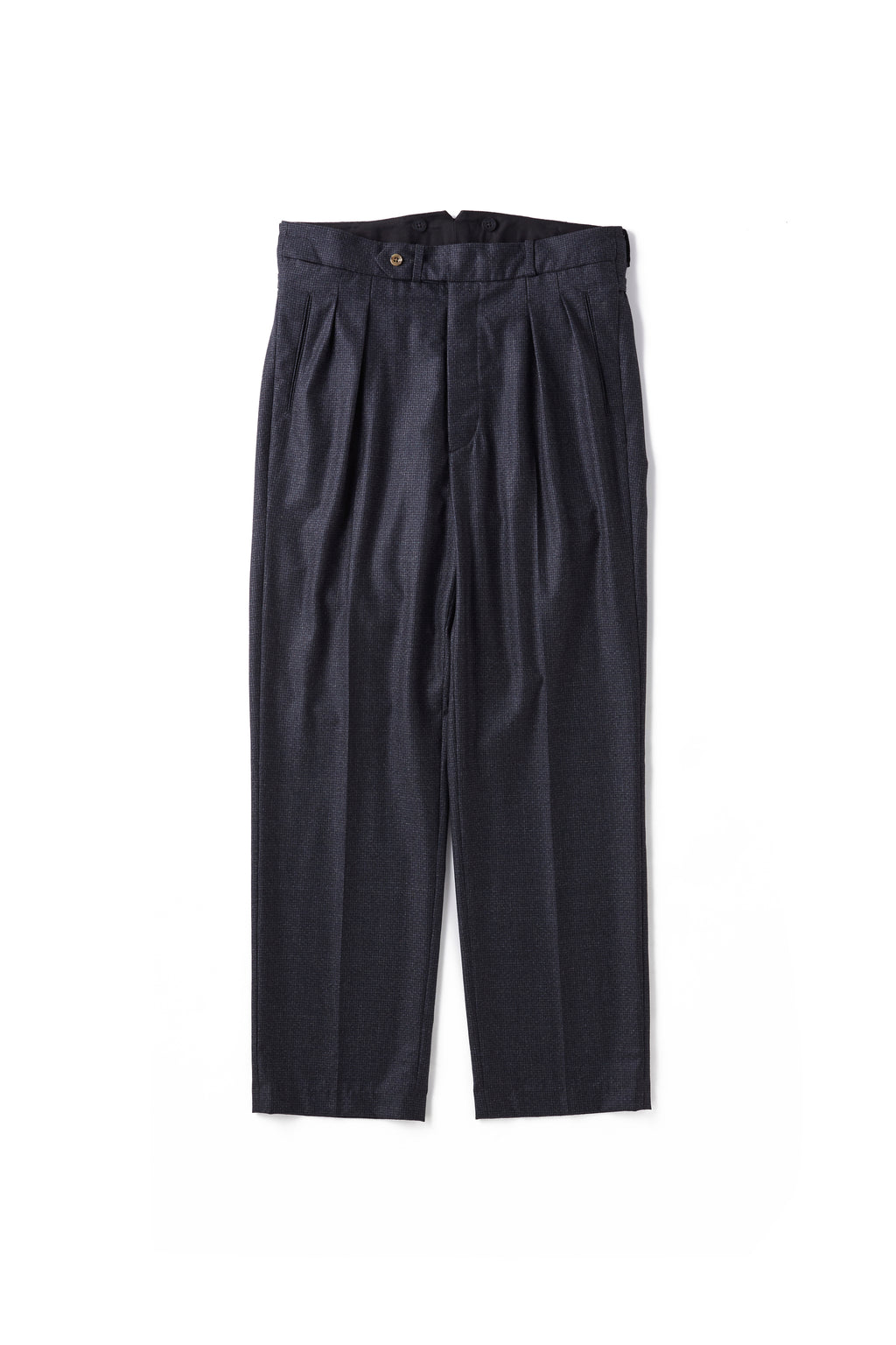 DOUBLE-PLEATED SMARTY TROUSER - 202OJ-PT11