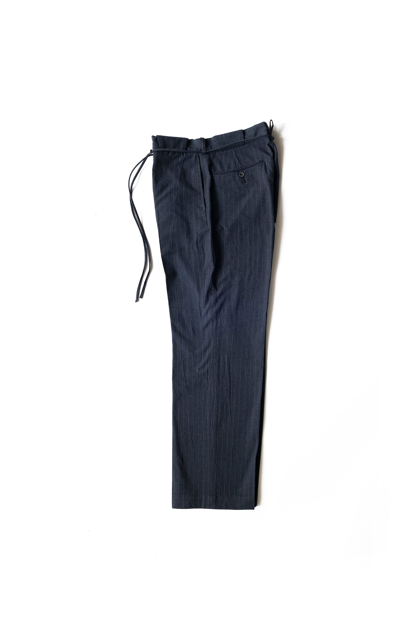STRING WAIST WORK TROUSER - 211OJ-PT13