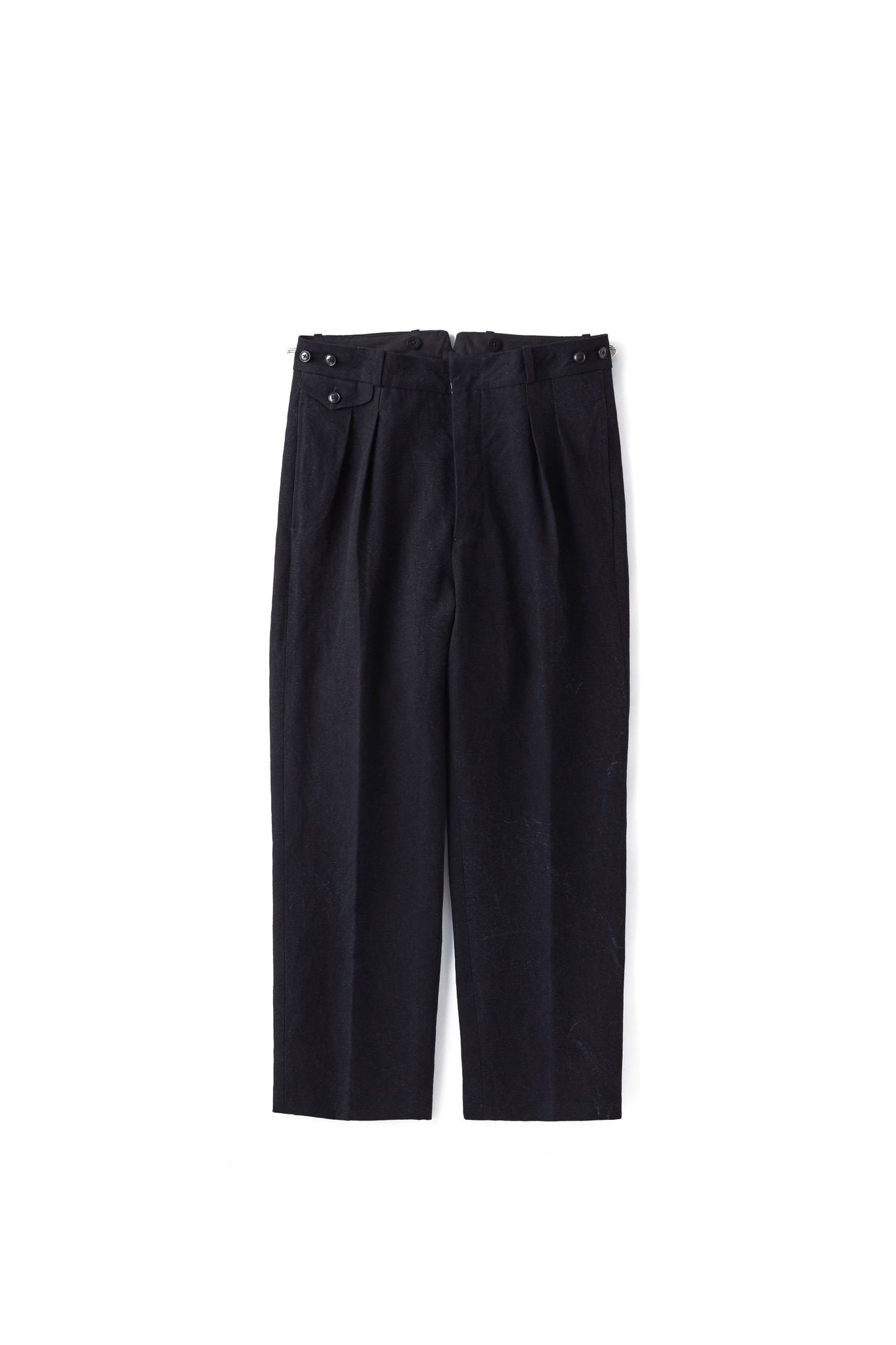 DOUBLE-PLEATED DRAPE TROUSER - 211OJ-PT02