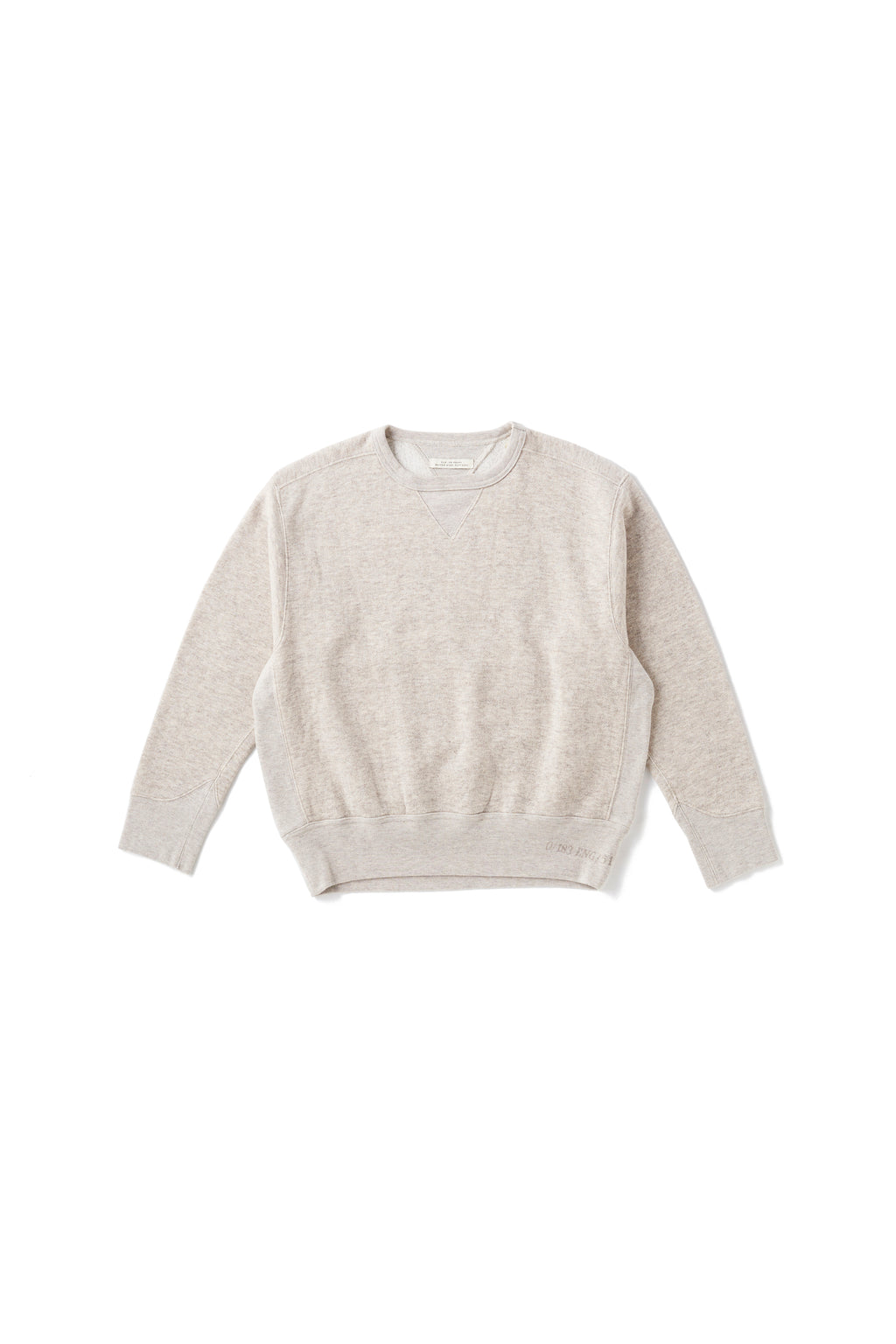 YAK COTTON SWEAT CREW-NECK - 202OJ-CT02