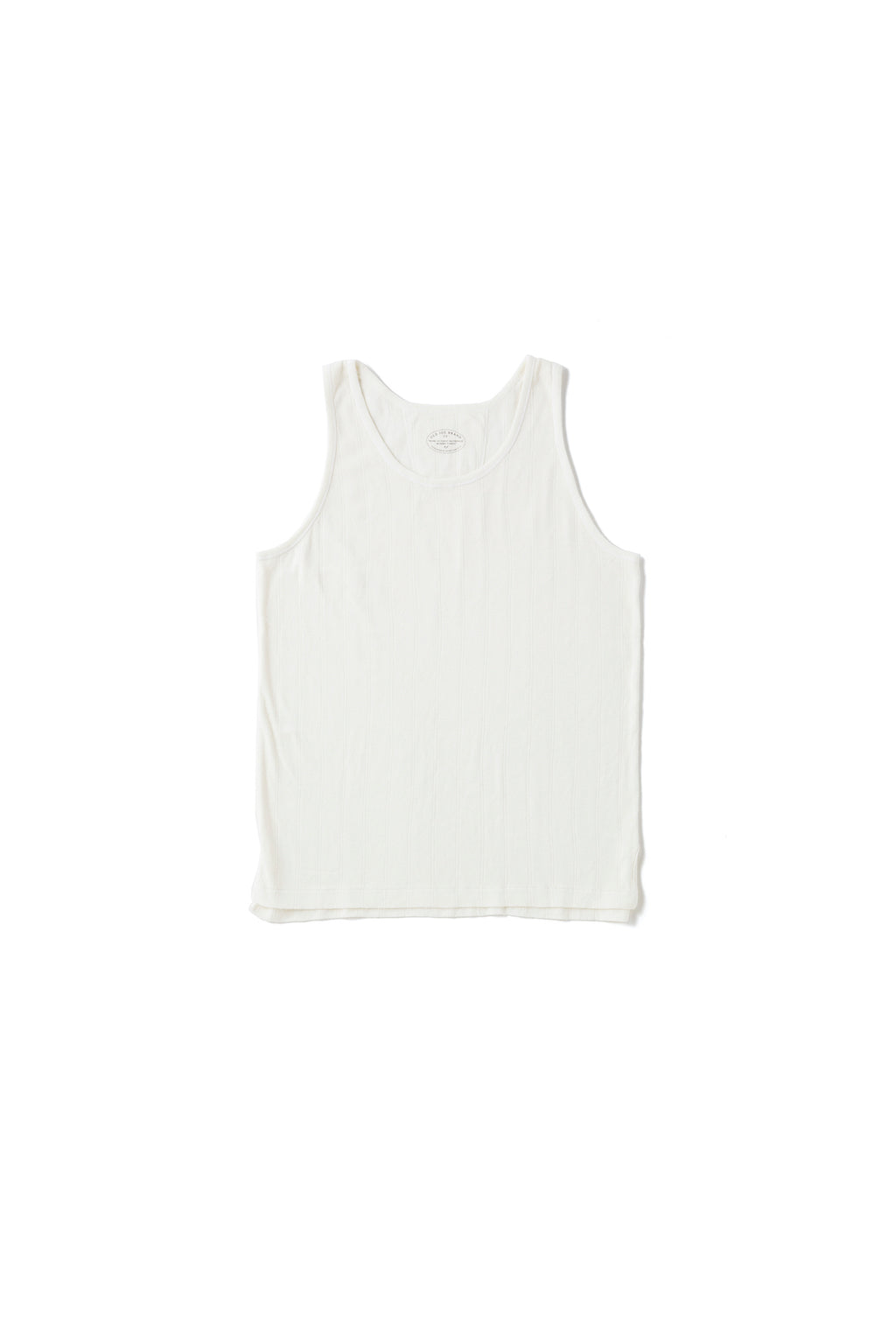 RIBBED TANK - 201OJ-CT03