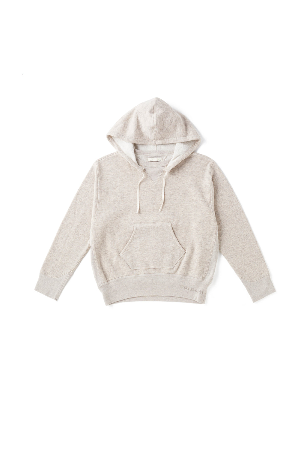 YAK COTTON SWEAT HOODIE - 202OJ-CT01