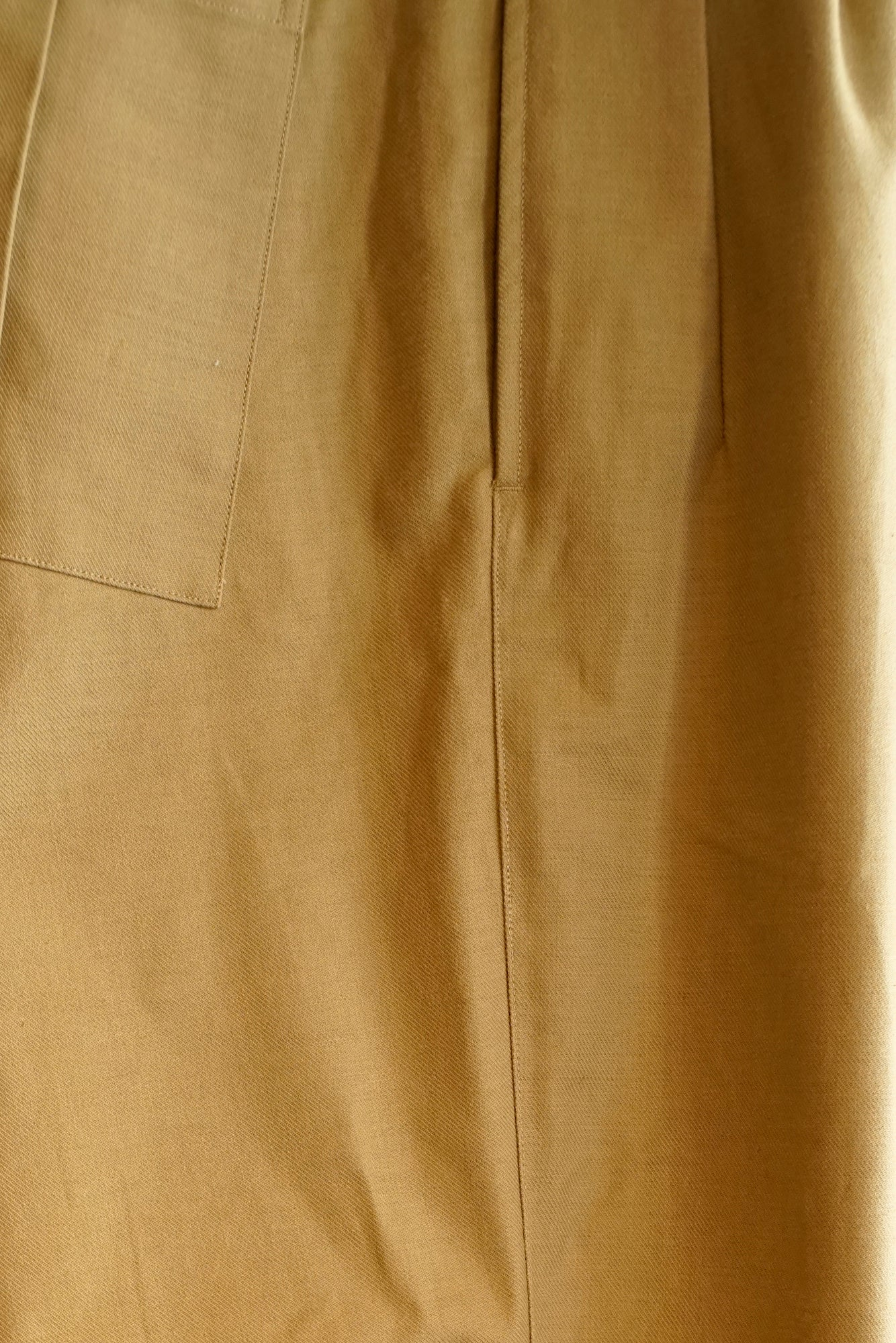 SIDE BUCKLE GRUKHA TROUSER - 201OJ-PT11