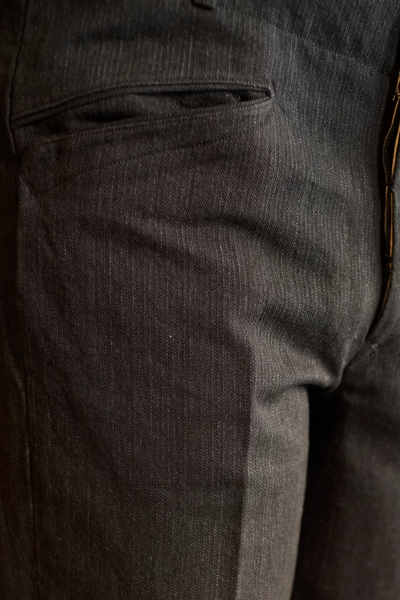 SLIT POCKET GRANDPA TROUSER - 201OJ-PT10