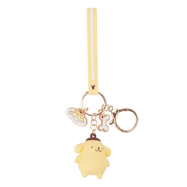 Cartoon Cute Hello Kitty Doll KT Cat Keychains Women Girls Charm Bags key chain  Accessories Pendant Car  New Key ring 2019