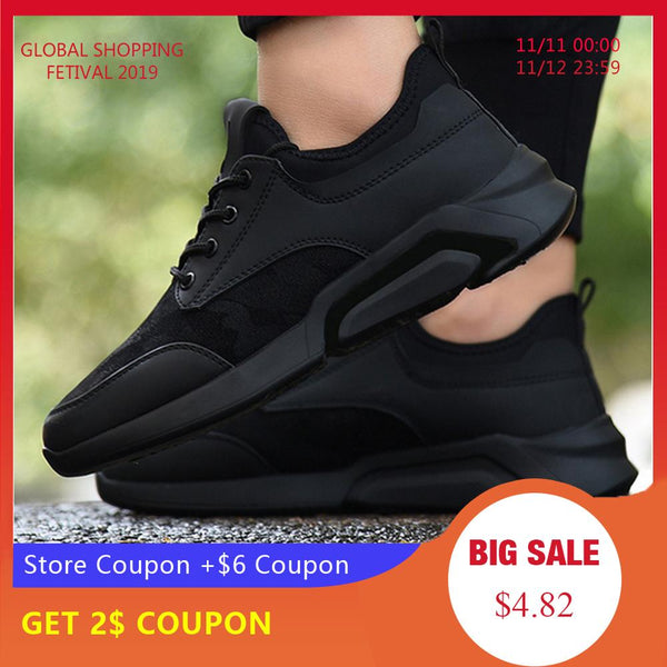 LASPERAL New Classics casual Men Walking Shoes Lace Up Men casual Shoes Outdoor Jogging Sneakers Comfortable soft