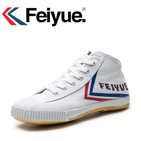 Feiyue Original Sneakers Classical Shoes, Martial arts Taichi Taekwondo Wushu Kungfu Soft comfortable Sneakers men women shoes