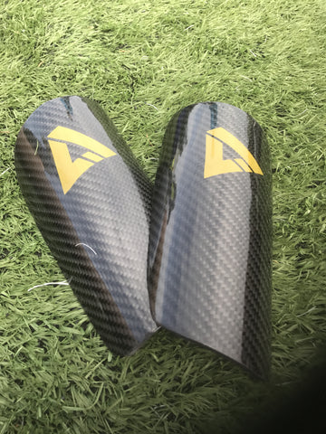 Carbon Fiber Shin Guards O/S